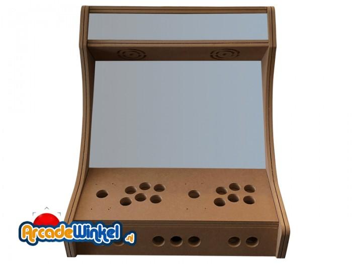 Bartop arcade cabinet flatpack kit - 2 players
