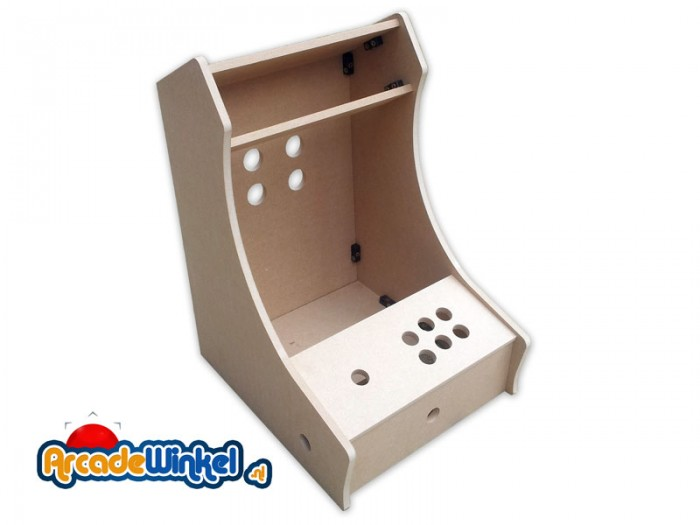 Bartop Arcade Cabinet Flatpack Kit   1 Player