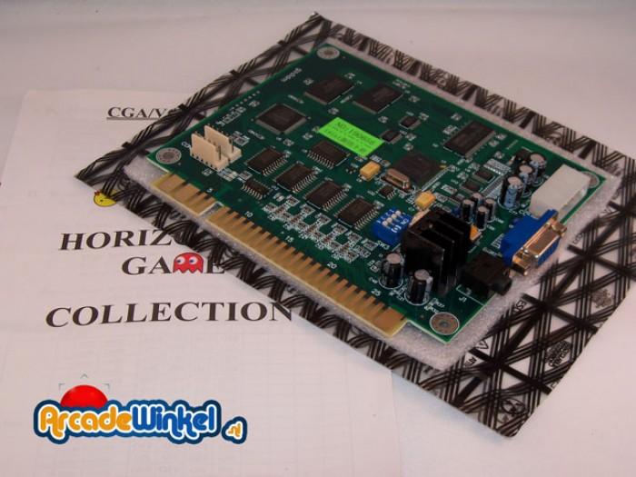 19-in-1 Jamma PCB horizontal
