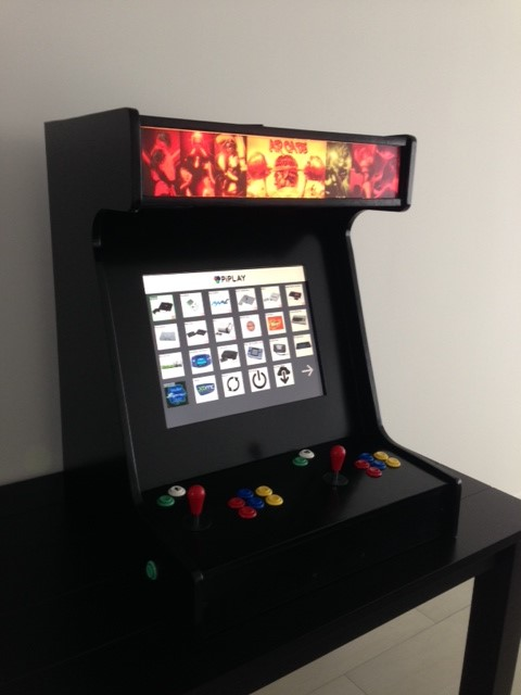 Arcadewinkelnl 2 Player Arcade Bartop Van Ben