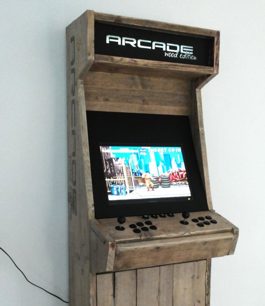 Arcadewinkelnl Project Arcade Wood Edition Door Maarten