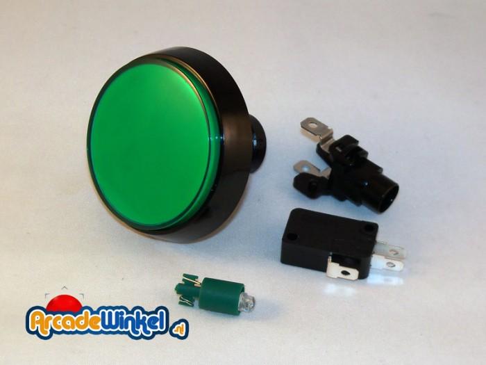 Groene drukknop